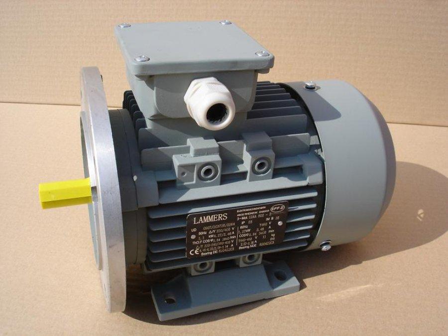 Lammers 12AA 12BA villamos-motor